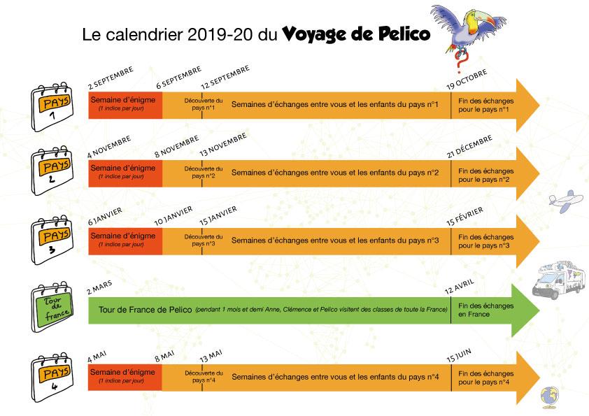 Calendrier Scolaire 2019 2020 Excel.Le Calendrier De L Annee 2019 2020 Le Coin Des Profs